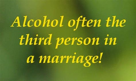 alcoholism marriage