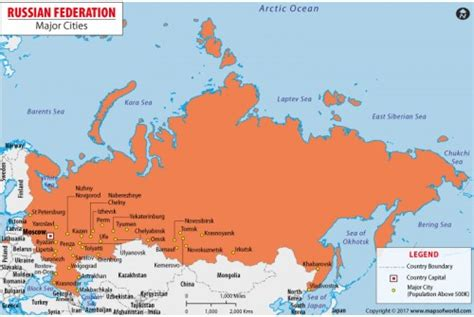 buy map  russia  cities