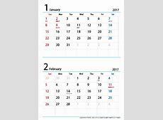 2018カレンダー 無料 2 Printable 2018 calendar Free Download