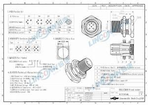 M12 5 Pin Ip67 Male U0026female Connector Locking Type M12