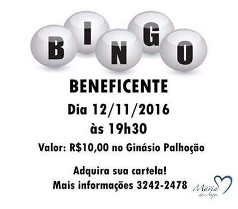 Asilo de Palhoça realiza Bingo Beneficente Arquidiocese de ...