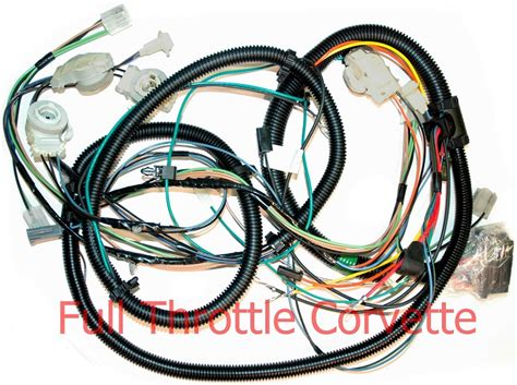 1980 Corvette Wiring Harnes 1980 corvette forward l harness without factory stereo