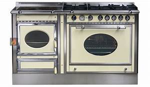 Four Et Plaque De Cuisson : piano de cuisson bois gaz et lectrique 150cm avec 1 four et une plaque de cuisson ~ Melissatoandfro.com Idées de Décoration