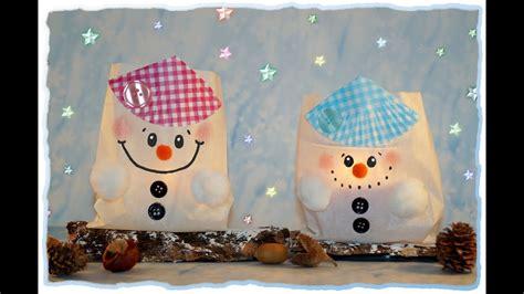 winter basteln mit kindern unter 3 s 252 223 e schneemann lichter basteln mit kindern