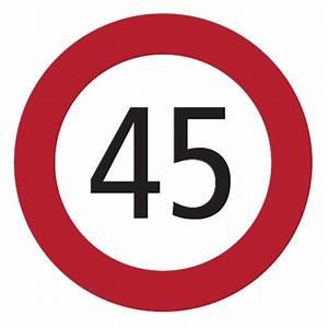 6 Km H Schild : freidig moto active gmbh 45 km h geschwindigkeitsaufkleber ~ Jslefanu.com Haus und Dekorationen