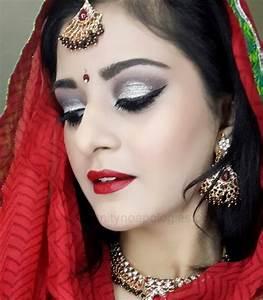Tutorial: Indian/Pakistani Bridal Makeup Look (Dramatic ...