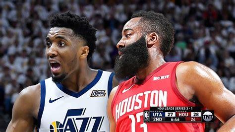 Utah Jazz vs Houston Rockets - Game 5 - Full Game ...