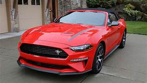 2020 Ford Mustang EcoBoost Convertible with High Performance Package Review | HPP on in | Best ...