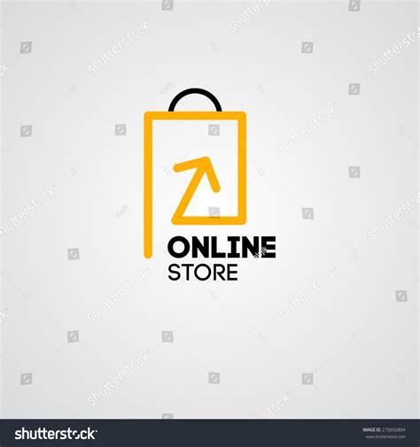 shop vector logo business stock vector