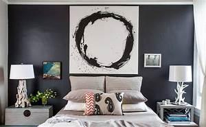 Mismatched Nightstands - Contemporary - bedroom - Lauren