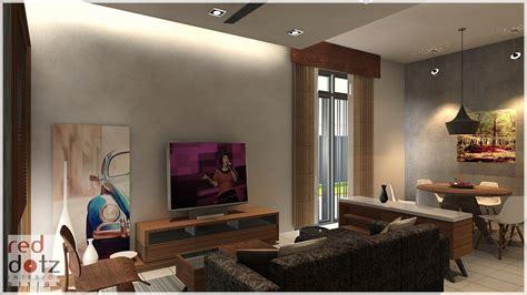 Living Room Interior Design Shah Alam
