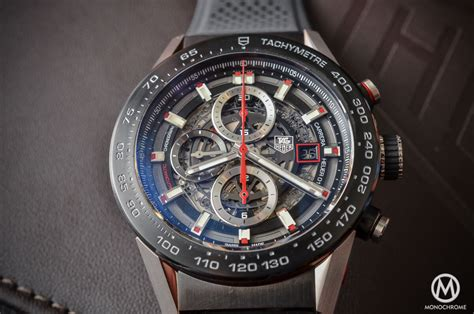 A Look At The Tag Heuer Carrera Calibre Heuer 01 (specs