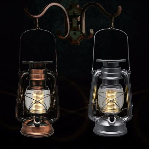 2018 led porching lighting solar lantern vintage solar
