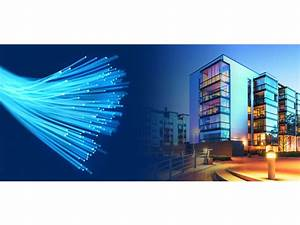 Fibre Optic In The Residential Buildings Ftth Fiber To The