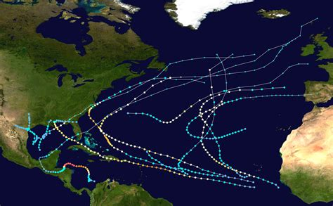 1998 Atlantic Hurricane Season Wikipedia