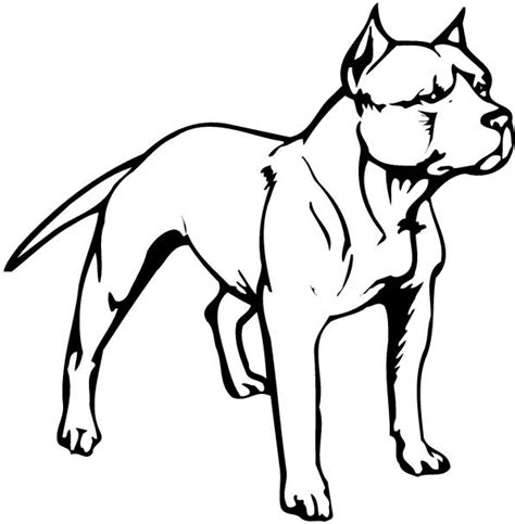 pit clipart black and white pit bull free clipart
