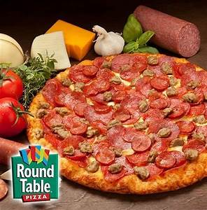 Enjoy your favorite Round Table Pizza Picture of Round
