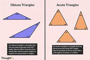 7 Worksheets 4 Types Of Triangles In 2020