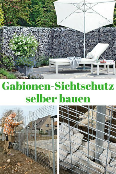 Sichtschutz Schuetzt Privatsphaere by Sichtschutz Gabionen Mauern Z 228 Une Sichtschutz