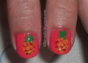 killer nails pineapple nails