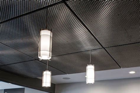 faux metal ceiling tiles wire mesh ceiling panels dahlia 39 s home discover how to