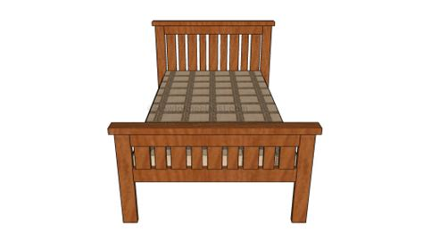 farmhouse bed plans howtospecialist   build