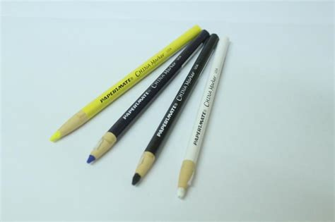 Chinagraph Pencils White