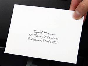 how to print rsvp envelopes at home in 4 steps With wedding invitations do i put the rsvp card in the envelope