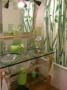 stunning objet deco salle de bain zen gallery amazing With deco salle de bain zen nature