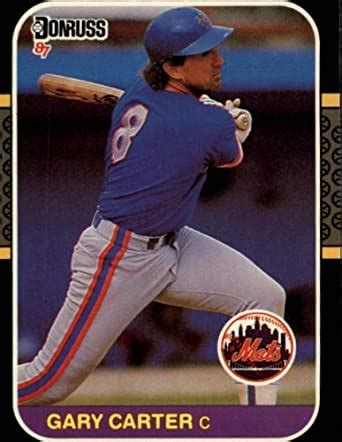 Buy baseball trading cards from top brands at great prices. Amazon.com: 1987 Donruss Baseball Card #69 Gary Carter Mint: Collectibles & Fine Art