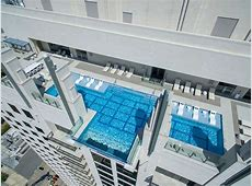 This Glass Bottomed Pool Lets You Admire the Ground 500 ft