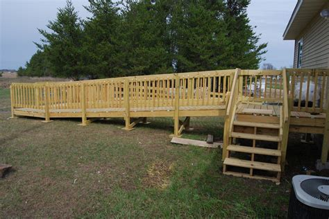 build wood wheelchair ramp  woodworking