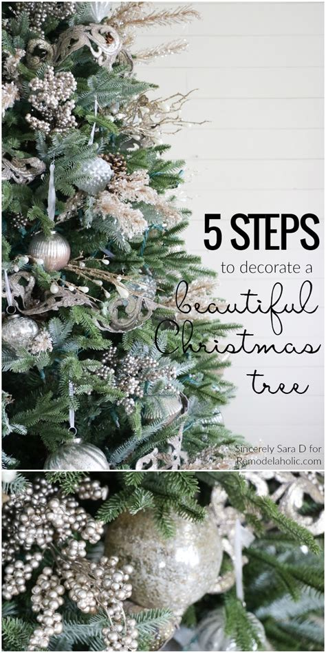 albert blog   decorate  christmas tree   simple