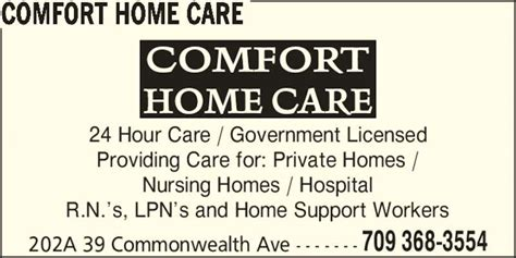 comfort home care comfort home care mount pearl nl 202a 39 commonwealth