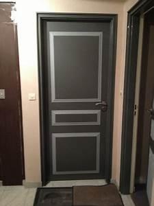 Habiller Une Porte Intérieure : stilvoll peinture porte interieure amazing bois interieur ~ Dailycaller-alerts.com Idées de Décoration