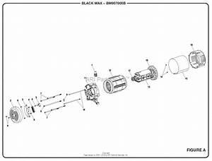 Homelite Bm907000b Generator Mfg  No  090930265 Parts Diagram For Figure A