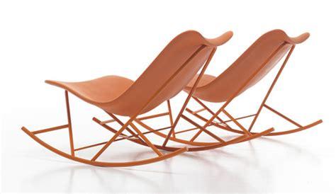 outdoor rocking chair from sintesi thinking machine