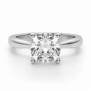 montreal cushion cut engagement ring engagement rings With cushion wedding rings