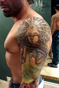 Joe Rogan's sexy DMT tattoo | Pelle Inked | Pinterest