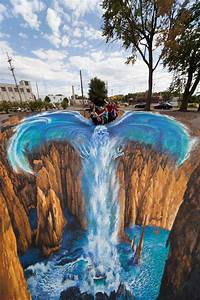 35, Works, Of, 3d, Sidewalk, Chalk, Art, That, Actually, Look, Real