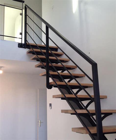 escalier exterieur limon central escaliers m 233 talliques garde corps m 233 tal 224 neuill 233 pont