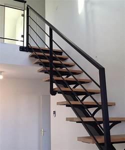 Garde Corp Escalier : escaliers m talliques garde corps m tal neuill pont ~ Dallasstarsshop.com Idées de Décoration