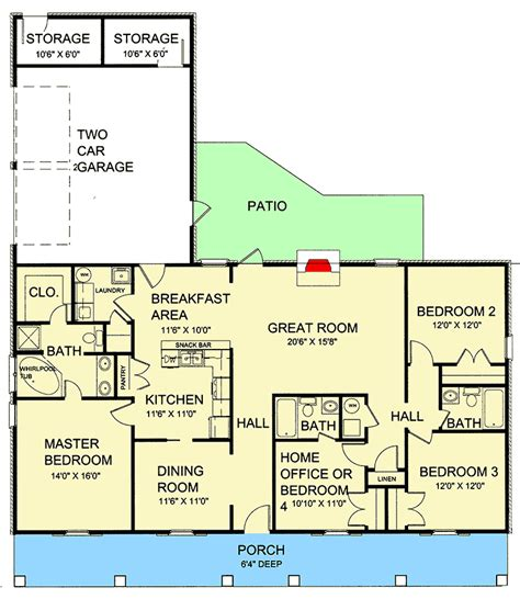 house plans with porches on front and back single house plans with front and back porch luxamcc