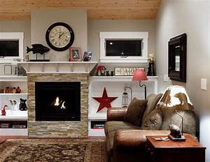 Faux stone fireplace limelight or tradition midcityeast for Faux stone fireplace limelight or tradition