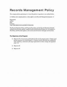 best 25 records management ideas on pinterest With records management policy template