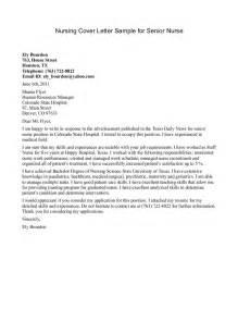 cover letter resume nursing nursing cover letter exle new grad nursing cover letter sle for senior