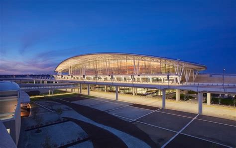 american airport buildings  terminals  architect