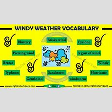 Expressing Windy Weather In English  English Study Page