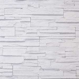 Steintapete Weiß Grau : vlies vinyl tapete weiss steinoptik steintapete stein k che wohnzimmer 3d optik ebay ~ Sanjose-hotels-ca.com Haus und Dekorationen
