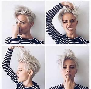 Coupe Mi Courte Femme : 114 magnifiques photos de coiffure courte ~ Nature-et-papiers.com Idées de Décoration